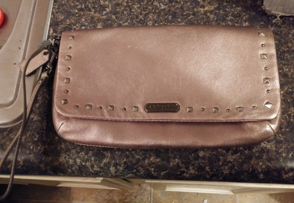 Coach Handbags - Authentic large coach wristlet